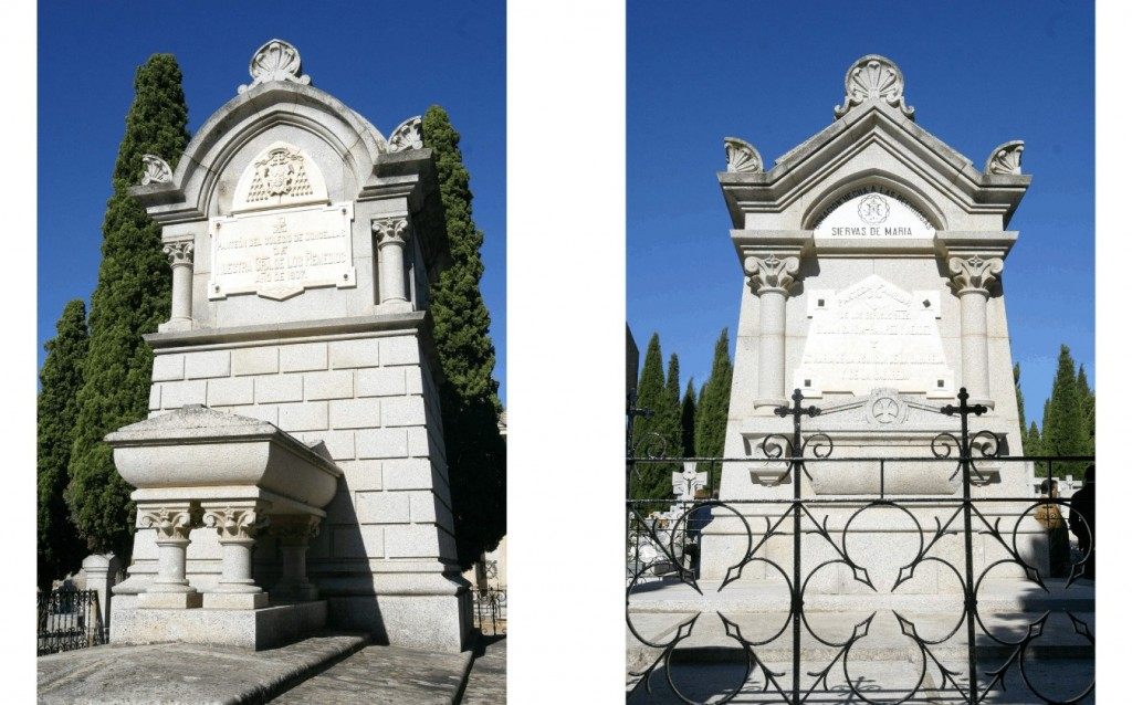 Arquitectura funeraria en el cementerio municipal de for Arquitectura funeraria
